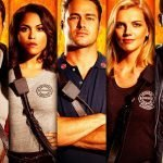 Official Season 5 Promotional Poster of Chicago Fire